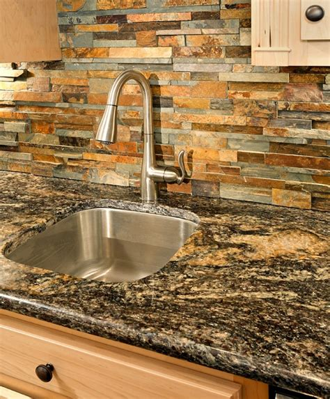 Wood Kitchen Backsplash Colourful Kitchen Backsplash Ideas Matching Colour And