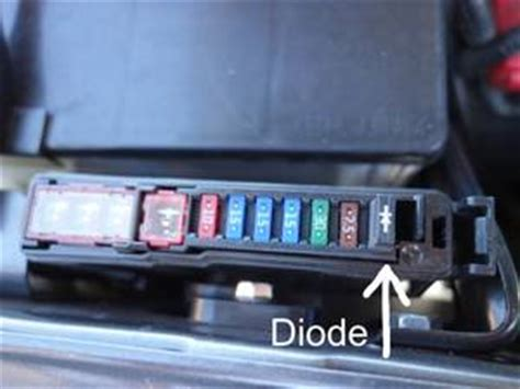 fuse and diode ibs tech ch new alternator settings