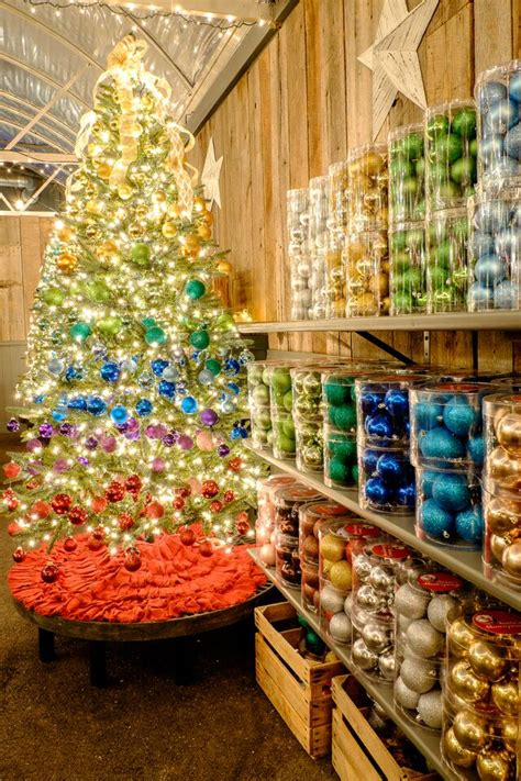 christmas trees and decor at frey s greenhouse in