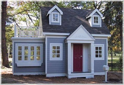 Who Plays House by Two Story Playhouse Backyard Playhouses And Cottages