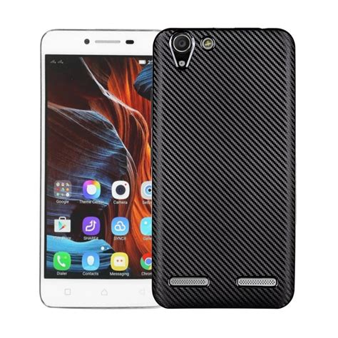 new carbon fiber soft shell for lenovo vibe k5 silicone gel soft protective back cover for