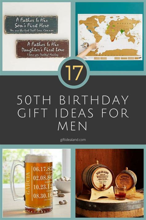 gift ideas for 50 17 50th birthday gift ideas for him dads 50th