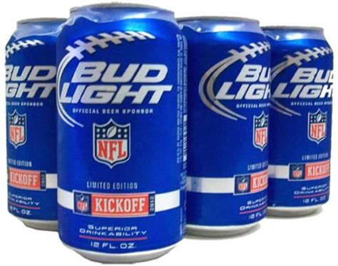 Bud Light 6 Pack Cans 12 Oz
