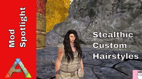 hairstyles ark survival stealthic custom hairstyles mod spotlight ark survival