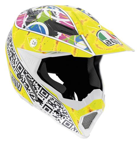 motocross helmet sizes agv ax 8 evo q code helmet size md only revzilla