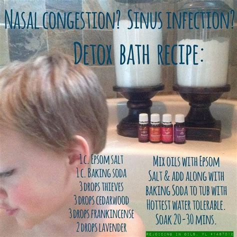 10 Minute Cold Detox Bath by Best 25 Living Allergies Ideas On