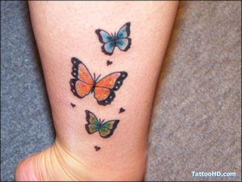 butterfly tattoo girl design blog butterfly tattoos on ankle