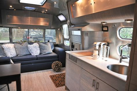 Rv With Modern Interior by Design For A Simple Renovated Vintage Cers