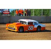 55  Chevy Dirt Track Race Car Vintage Racing Past