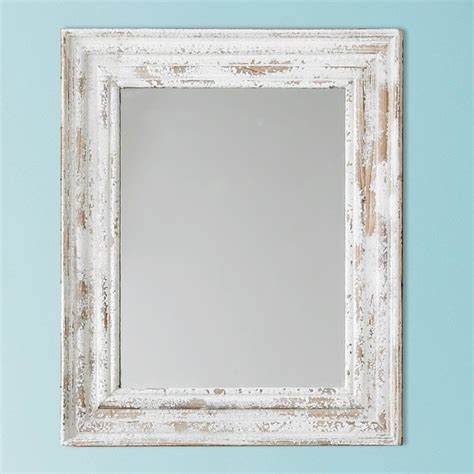 distressed cottage chic mirror l shades by