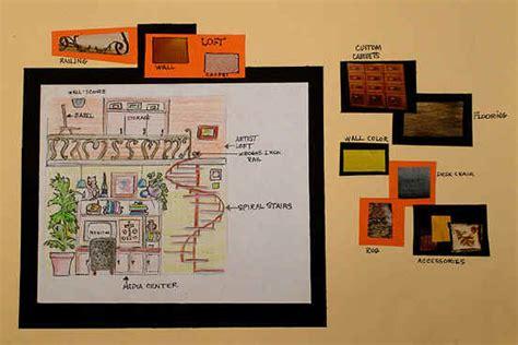 art lesson interior design dream room