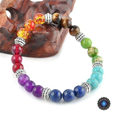 chakra healing crystals bracelet project