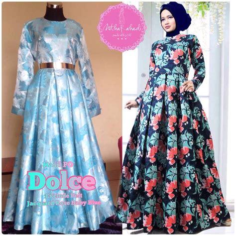 Promo Gamis Syar I Murah Vania Blue Terbaru Cantik Modis Keren gamis terbaru lebaran 2015 baju lebaran 2015 baju lebaran butik baju lebaran tanah abang