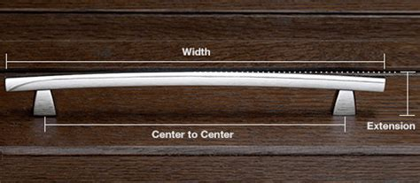 how to measure cabinet pulls how to choose cabinet door hardware