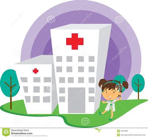 imagenes animadas hospital una se 241 ora el doctor near hospital foto editorial imagen
