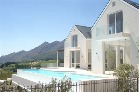 Luxury Estate Home Plans Franschhoek Contemporary House Claude Behrmann Architect