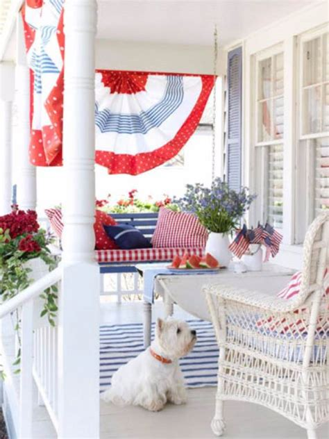 patriotic home decor ideas 33 front porch decorating ideas for the 4th of july