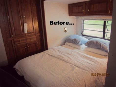 bedroom trailer mobile home decorating beach style makeover