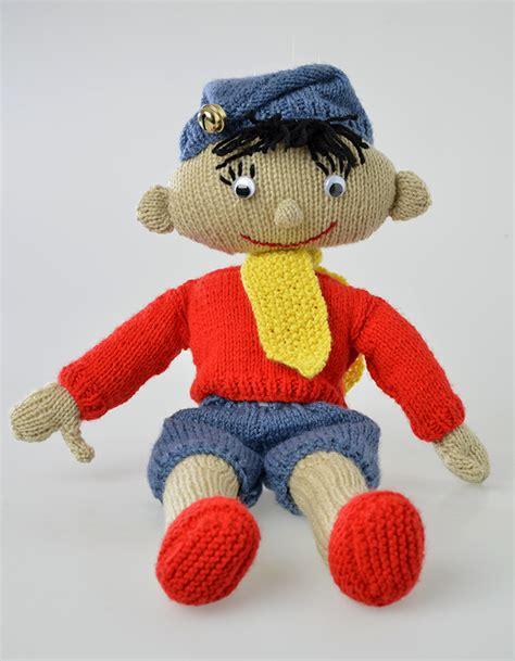 free knitting patterns of toys noddy free knitting pattern knitting bee