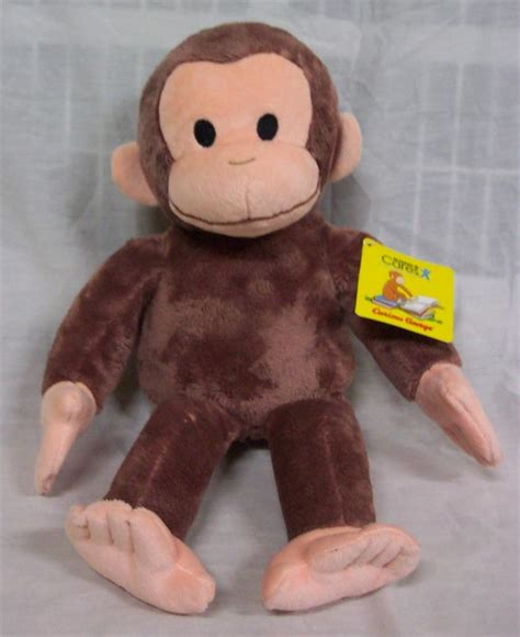 kohl s soft curious george monkey 14 quot plush stuffed animal