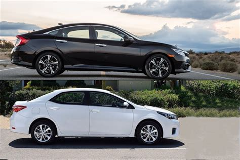 honda vs toyota vehicle matchup honda civic vs toyota corolla brannon