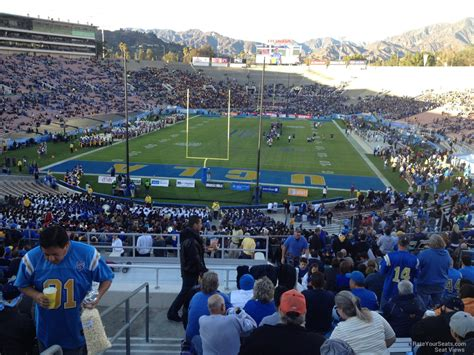 bowl section rose bowl stadium section 26 ucla football