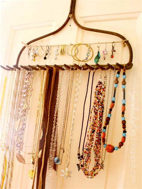 Handmade Necklace Display - sarahndipities fortunate handmade finds