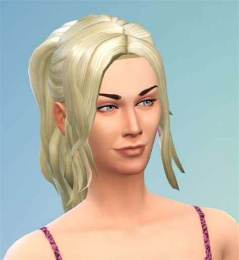 sims 4 ponytails with bangs sims 4 hairs birksches sims blog ponytail with
