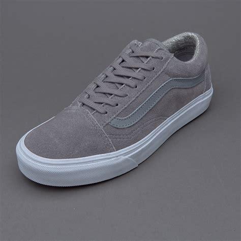 Sepatu Vans The Top Original sepatu sneakers vans womens skool suede grey