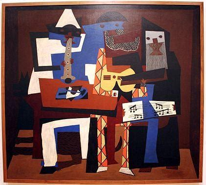 picasso paintings three musicians 301 moved permanently