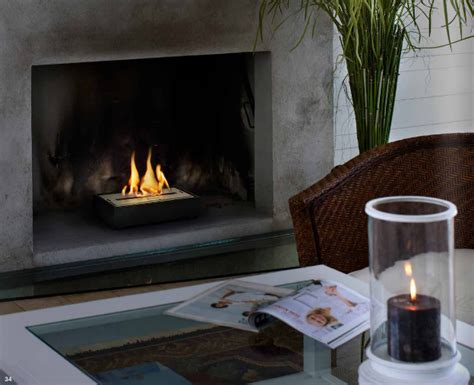 Fireplace Biofuel by Ethanol Fireplace Grate Relight Your Fireplace
