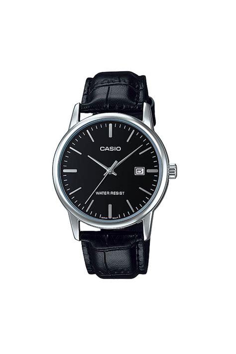 Jam Tangan Casio Pria Mtp E128d 1a Original jual casio jam tangan pria original terbaru water resistant mtp v002l 1a hitam