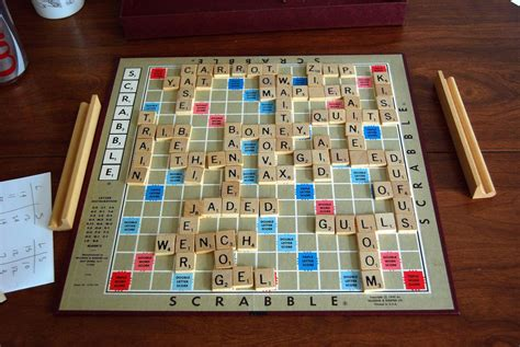 scrabble lexical popular travel board and card