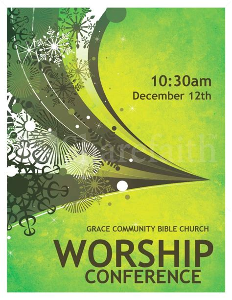Worship Conference Flyer Template Flyer Templates Conference Flyer Template