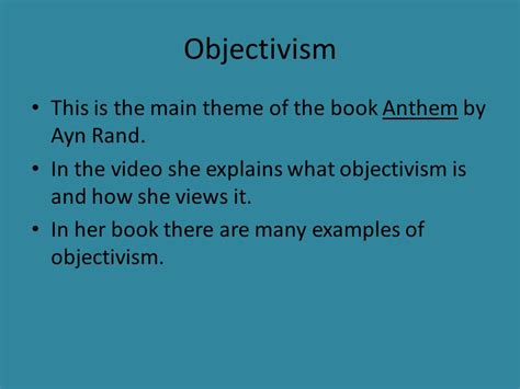 themes the book anthem anthem by ayn rand ppt download