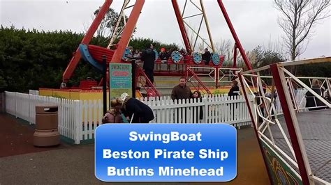 boat swing ride swing boat off ride butlins minehead youtube