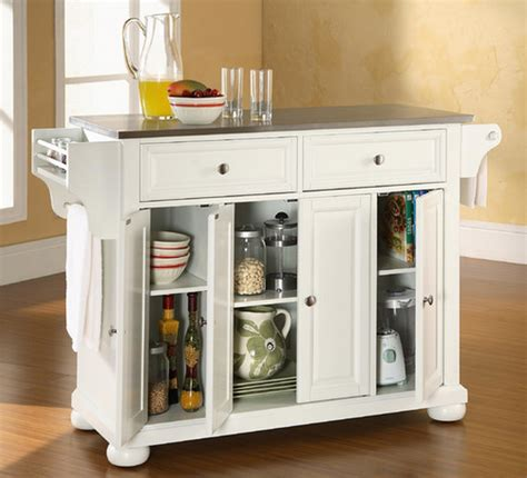 alexandria kitchen island top 7 white kitchen islands furniture