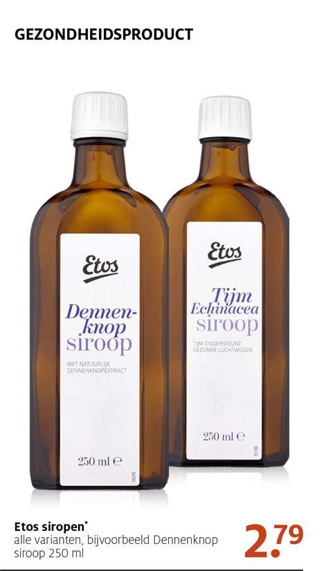 Etos Q10 Serum etos siropen 2 79 aanbieding bij etos
