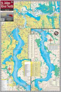 st johns river fl fishing map keith map service inc