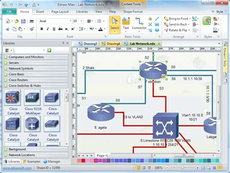 free network diagram software cisco network design cisco network diagram