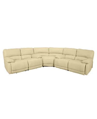 nina sectional sofa reviews nina 3 piece leather power reclining sectional with 2