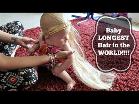 youtube the woman with the longest pubic hair in the world baby longest hair in the world youtube