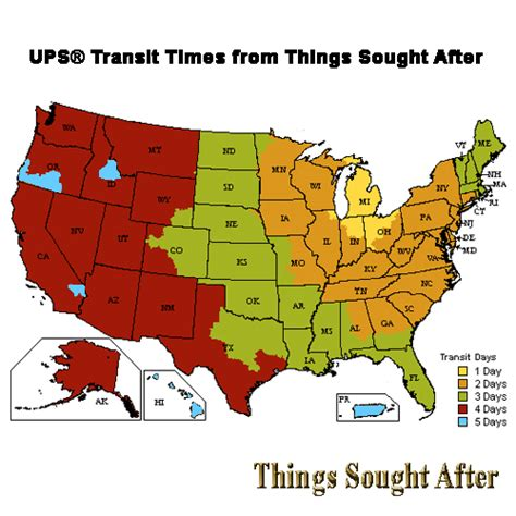 ups transit map ups saturday delivery map pictures to pin on pinsdaddy