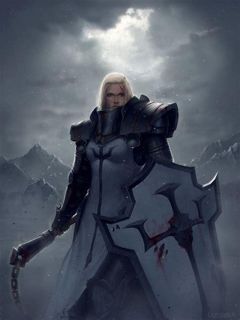 Warrior S By Johanna crusader by lionsketch on deviantart
