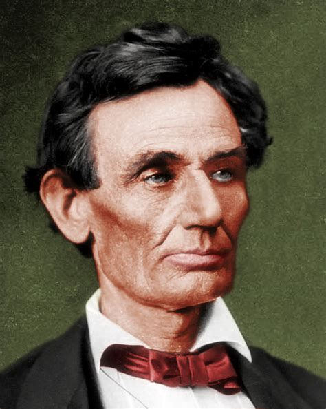 what color was abraham lincoln an abraham lincoln colour photo forbairt
