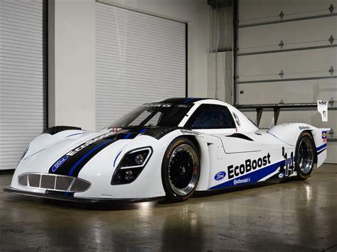 ford revela su carro de carreras  motor ecoboost