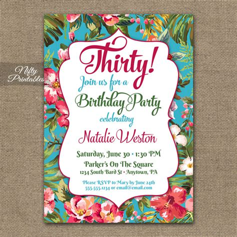 Hawaiian Theme Wedding Invitation To Email by Tropical Birthday Invitations Hawaiian Luau Nifty