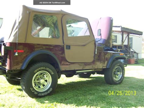 Jeep Factory 1980 Jeep Cj7 Factory Automatic 304 V8 5 0l
