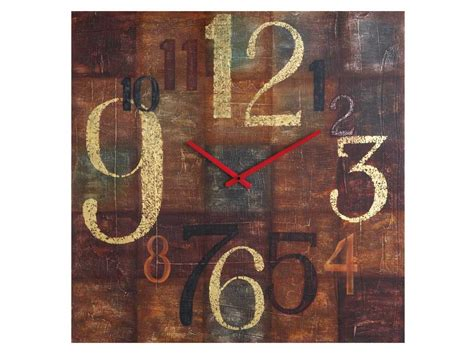 cheap rustic wall decor rustic wall clock cbk 239520 105 95 lodge country