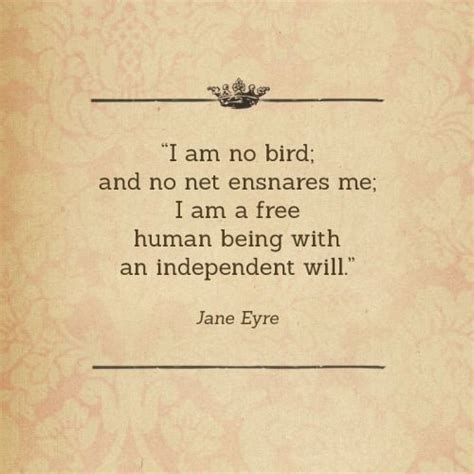 i am no bird and no net ensnares me i am a free human